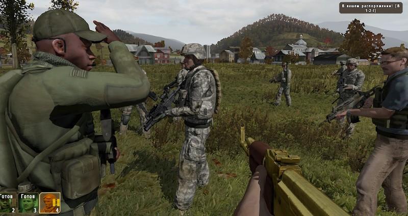 Три Солдатки И Командир Занимаются Сексом Отбив Здание У Противника