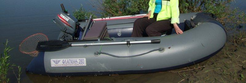 Накладки на банки лодки флагман