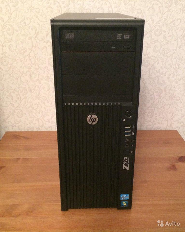 HP Z220 Pentium G2130 3.2Гц 16gb Radeon HD3850 512gb 256bit СИСТЕМНЫЙ БЛОК