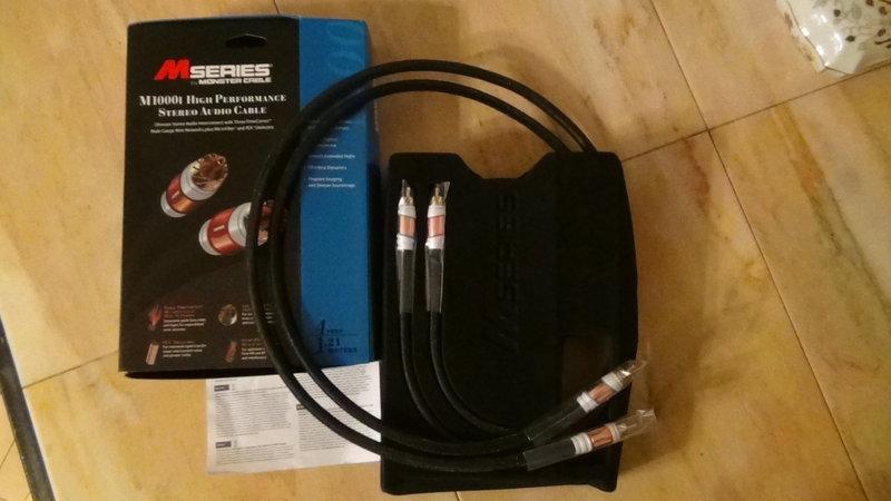 Межблочный кабель MONSTER CABLE M1000i