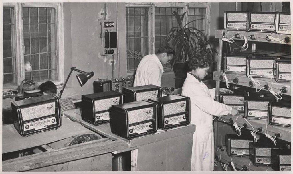 Заря радиоприемник (сетевой)
