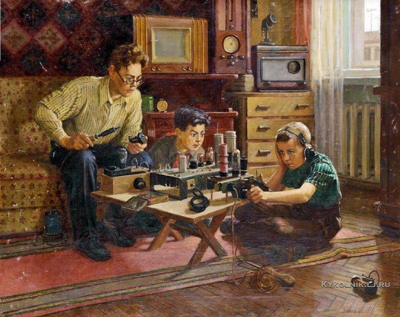 ...как юный разрушитель превращается в юного радиолюбителя.