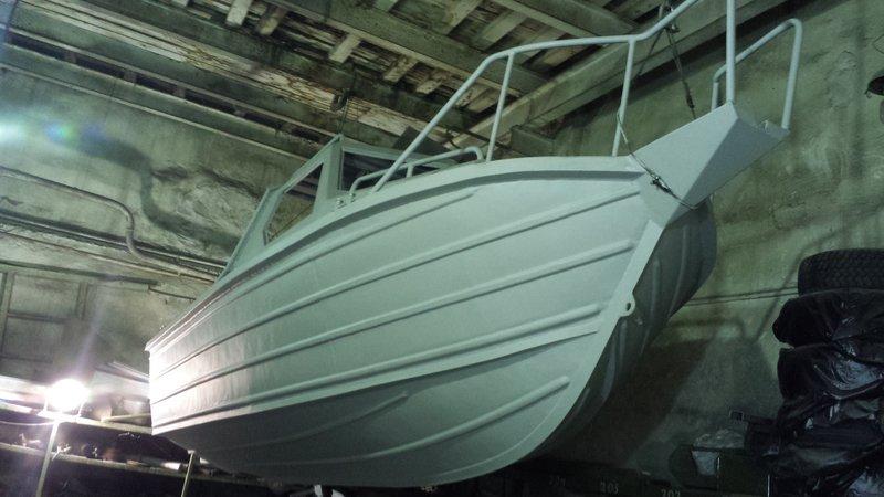 Постройка и доработка катера