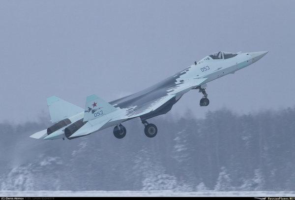 الانتاج الكمي لمقاتلات Su-57 تم تأجيله الى غايه العام 2020 على الاقل  154886471380666295