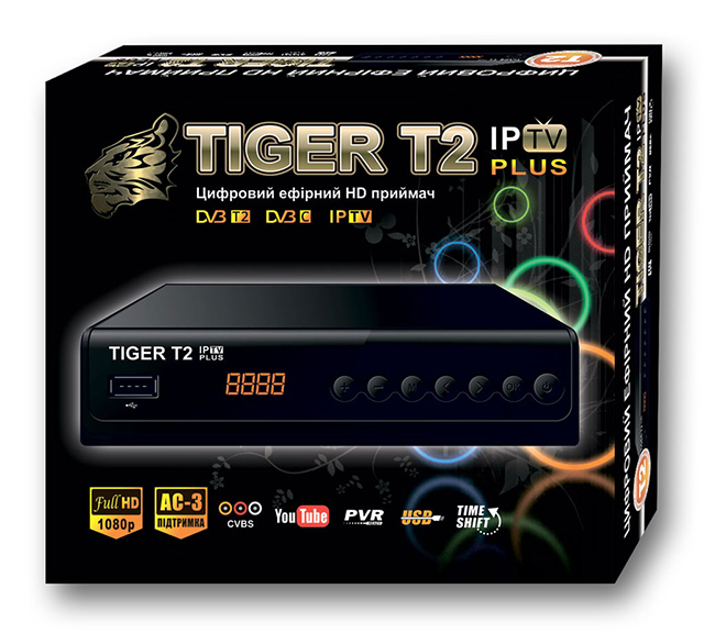 Инструкции Tiger T2 IPTV PLUS