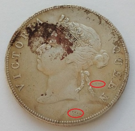 50 центов Гонконга 1890