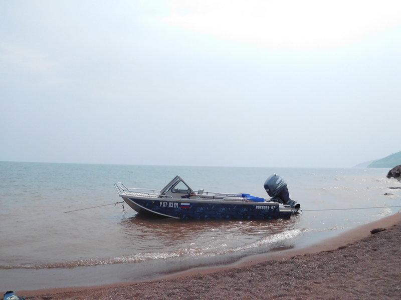 Подшивка лодки полиэтиленом