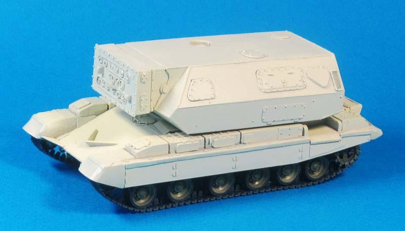 """Лазерный танк"""" 1К17 """"Сжатие"""", 1:72, самоделка"""