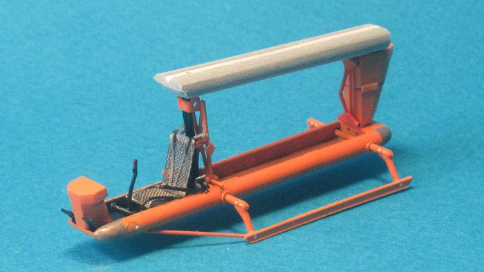 Del Mar DH-20, 1:72, самоделка