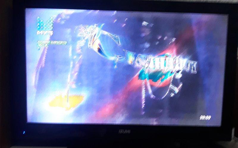 Мигнул свет, теперь телевизор так показывает