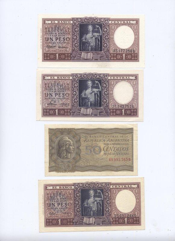 Банкноты Аргентины.