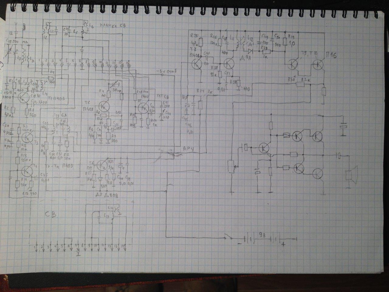 кв-св приёмник- конструкции, схемы