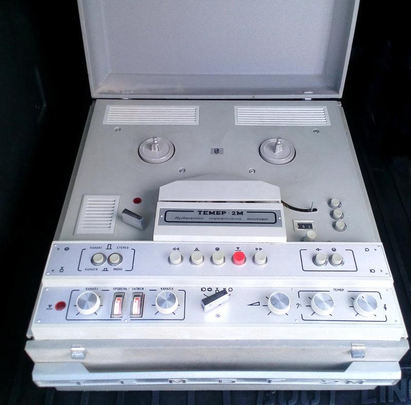 Магнитофон Тембр 2М в ИДЕАЛЕ !!!