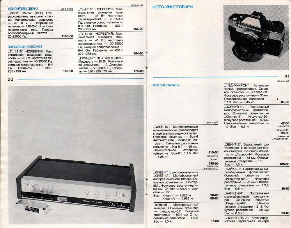 Стоимость радиоаппаратуры в СССР.