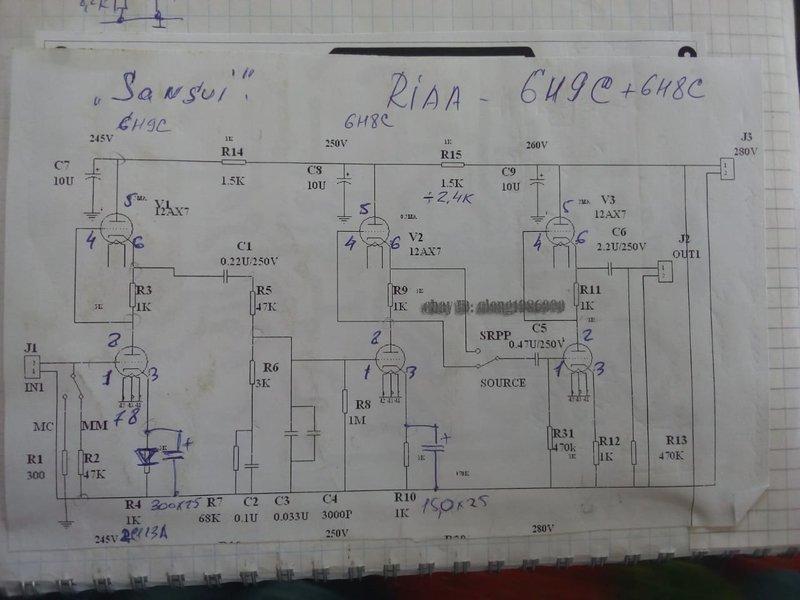 Фонокорректор ламповый от Василича