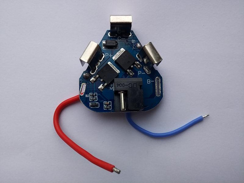 Шуруповёрт от литиевых аккумуляторов