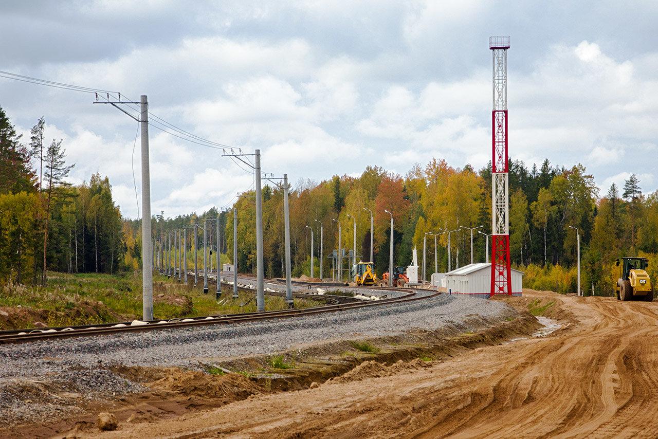 Участок Будогощь (исключая) - Неболчи - Анциферово - Хвойная (включая).