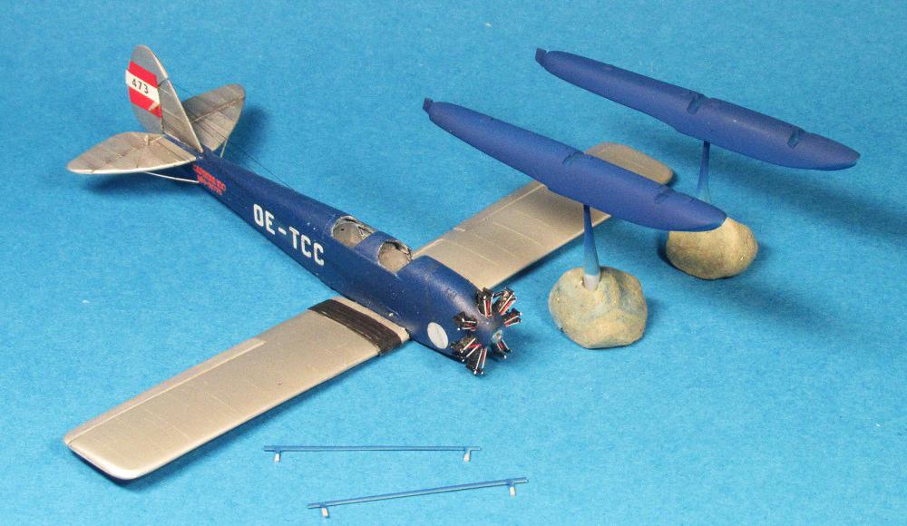 Caproni Ca.100 Idro, 1:72, NOVO - конверсия