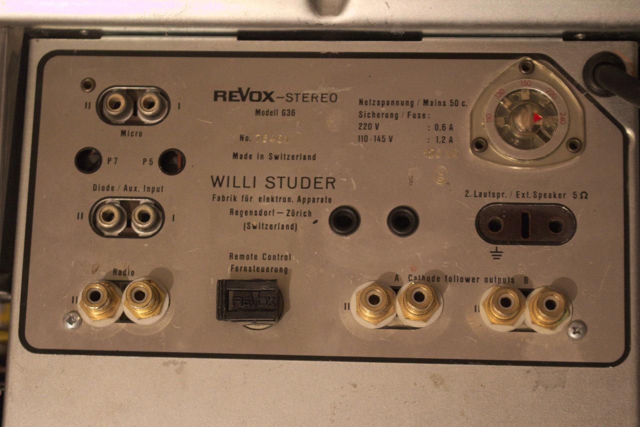 Revox G-36