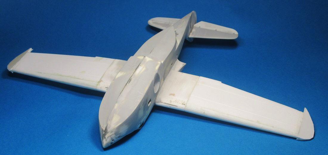 Морская коллекция: Douglas YB-11, 1:72, самоделка