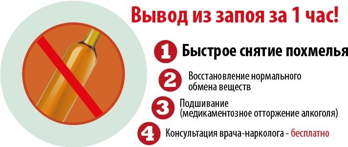 Лечение алкоголизма на дому и в клинике в Москве