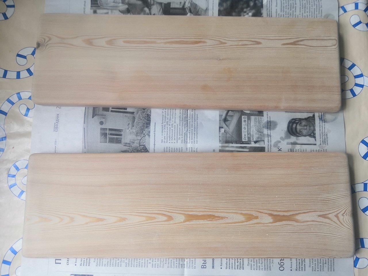 Окрашивание древесины, лакировка и полировка