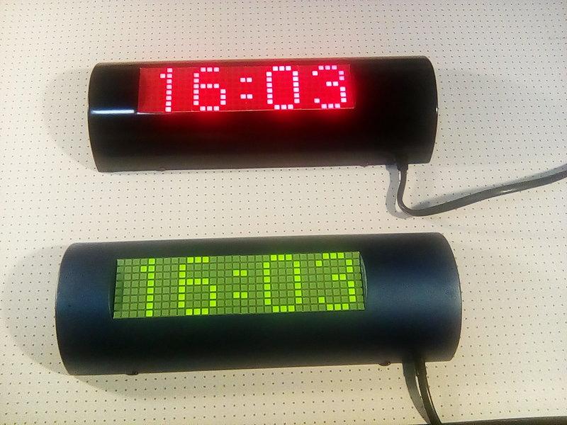 часы на лампах