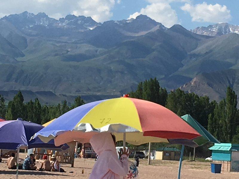 А,я побывал в Киргизии.