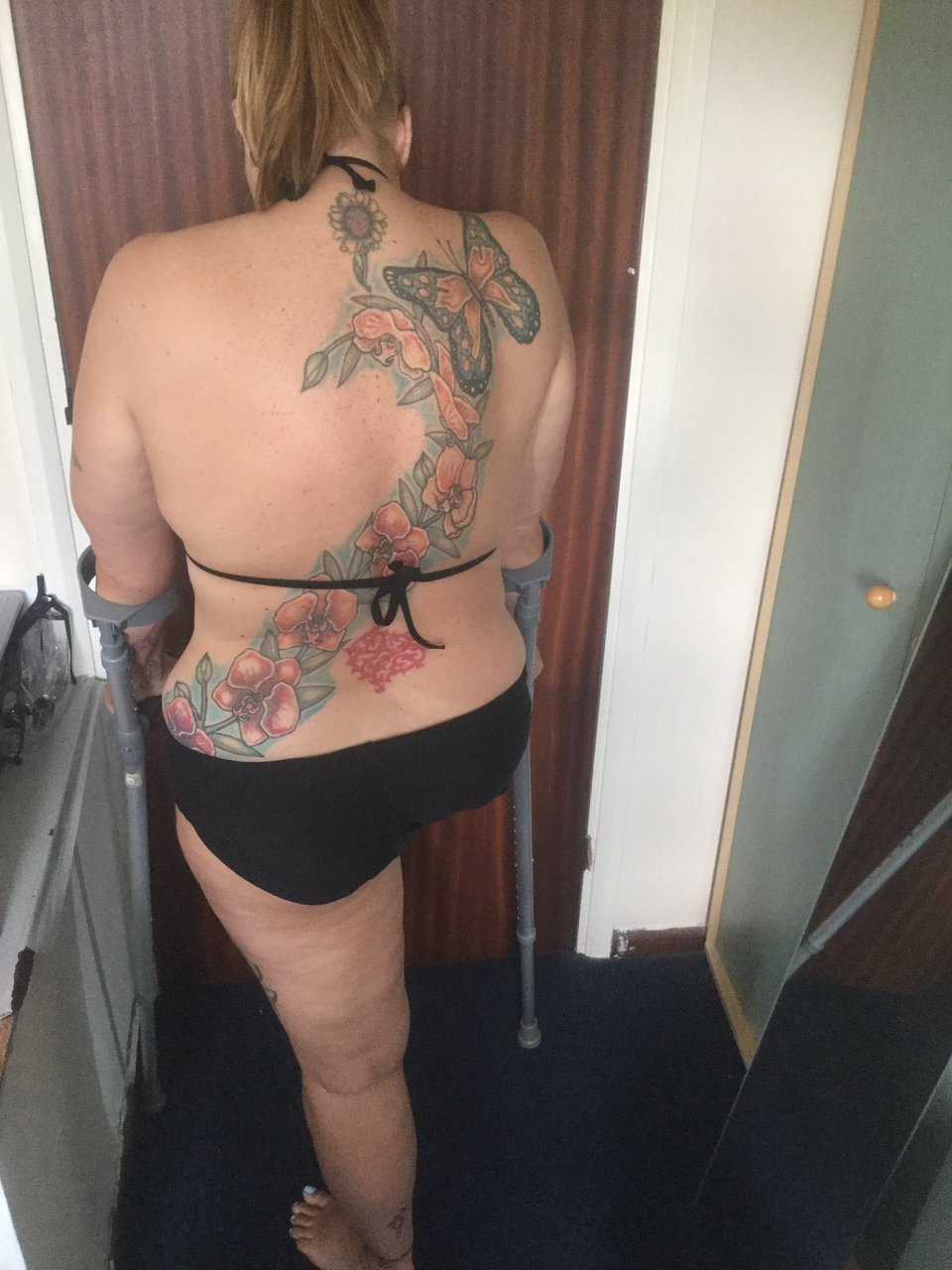 Amputees with tattoos and/or piercings