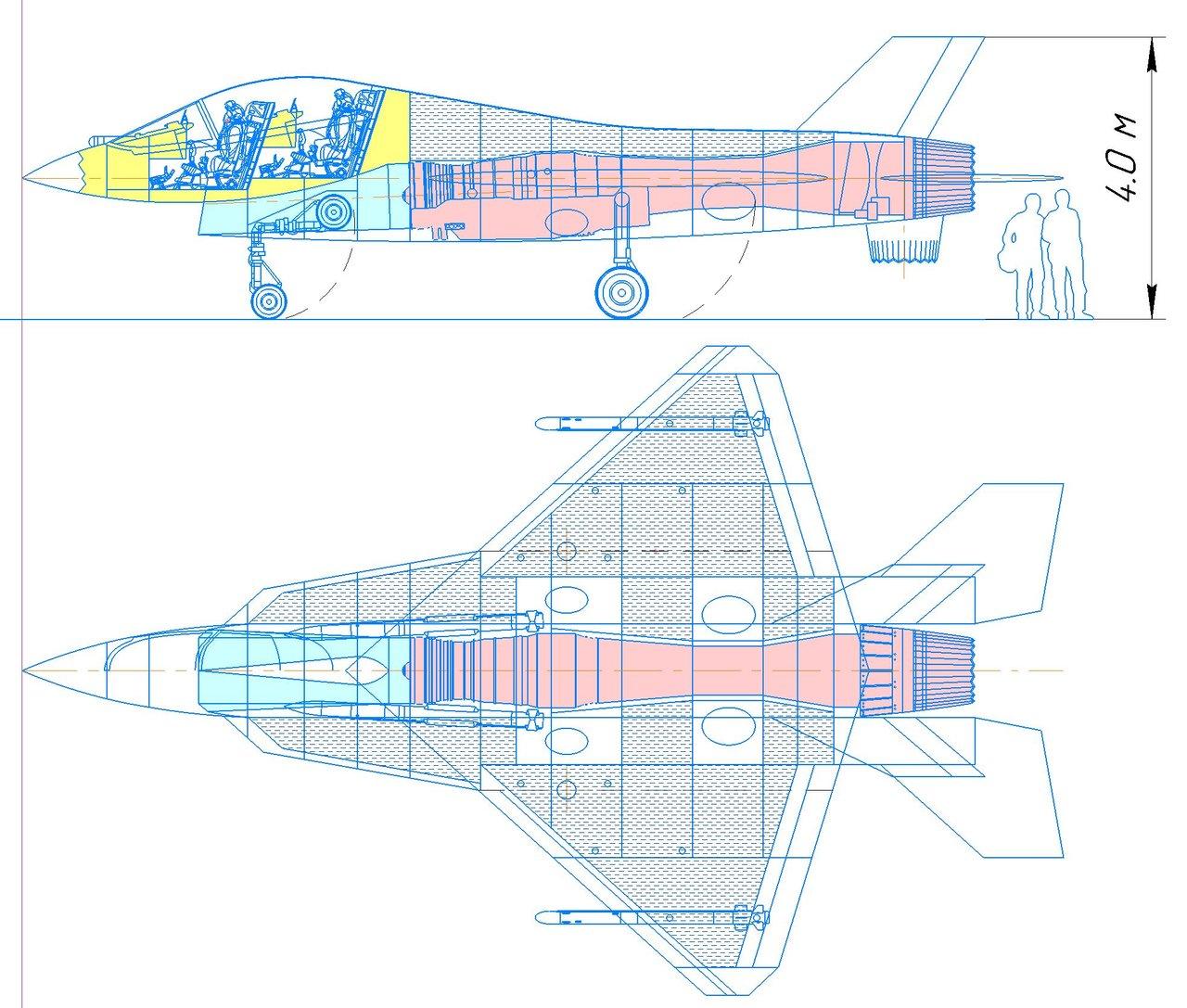 Легкий однодвигательный истребитель РФ
