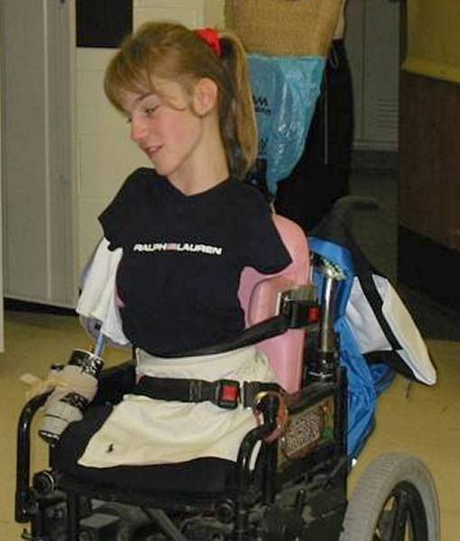 Devotee wheelchair stories woman Into the