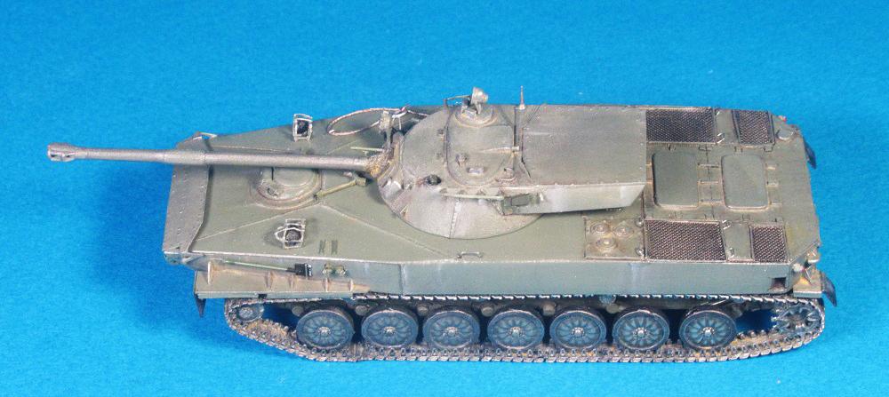Объект 906 (ПТ-85), 1/72, самоделка.
